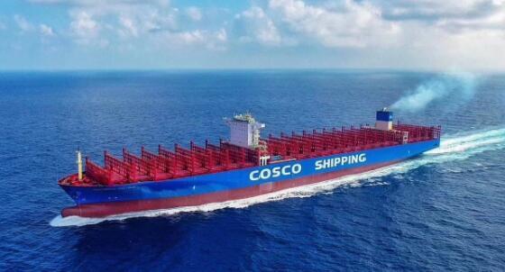 外高桥造船交付第三艘20000TEU超大型集装箱船