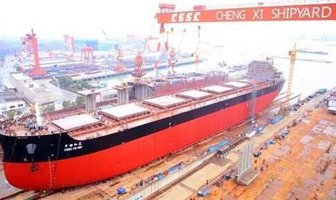 中船澄西2018年第13艘新造船顺利下水