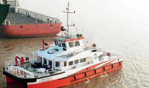 东南造船海上风电运维服务船FJOWOM005顺利交付