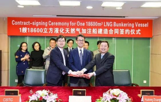 沪东中华将建全球最大LNG加注船