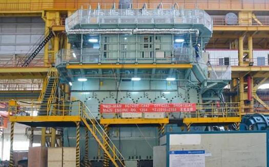 中国船柴大柴公司成功交验庚子年首台主机