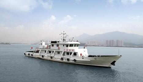 江龙船艇100吨渔政船成功入列