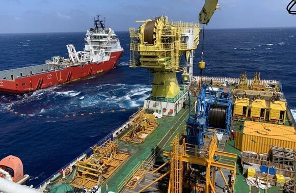 中国海油全面掌握深水海管预调试两项技术