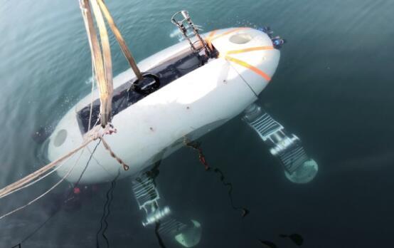 """七一九所""""深海爬游混合型无人潜水器研制""""通过浅海试验验收"""
