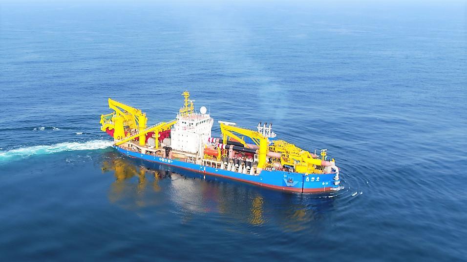 """超大型自航绞吸挖泥船""""天鲲号""""研制科技成果达国际领先水平"""