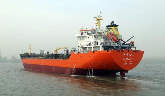 海通海洋交付一艘11490��成品油船