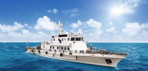 江龙船艇300吨渔政船顺利交付客户