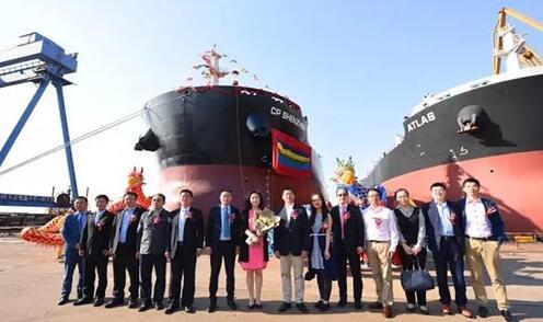 中船澄西交付2017年第12艘新造船
