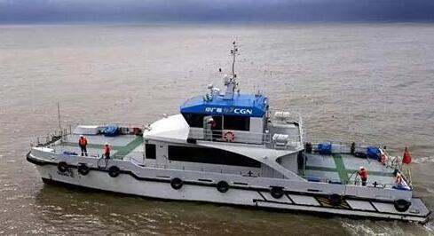 """海上风电运维船""""广核1""""顺利交付"""